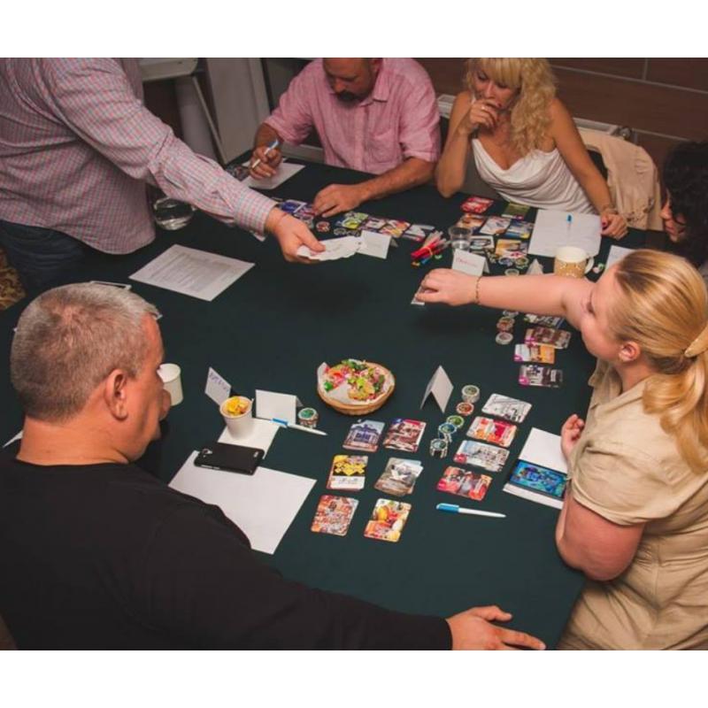 """Настольная игра """"Business Poker"""" (Бизнес-покер)"""